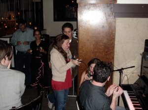 Some piano bar in Chelsea