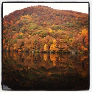 Bear Mountain Reflections - rainy day hike with a great friend