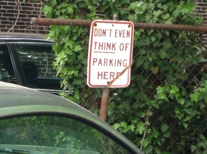Typical Philadelphia. Very nice signs and people all over this town.