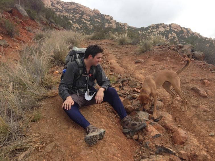 3.5 miles up El Cap