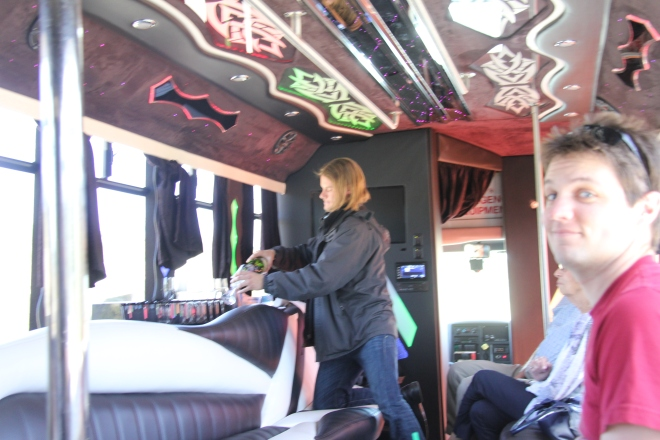 Wine Party Bus